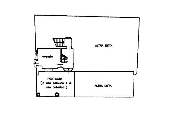Immagine n1 - Planimetria - Piano terra - Asta 13518