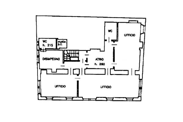 Immagine n2 - Planimetria - Piano primo - Asta 13518
