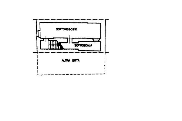 Immagine n3 - Planimetria - Piano interrato - Asta 13518