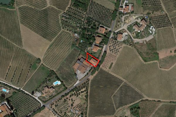 Immagine n0 - Planimetria - Vista aerea - Asta 1352