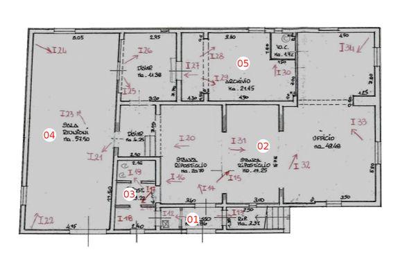 Immagine n4 - Planimetria - Piano terra - Asta 1352