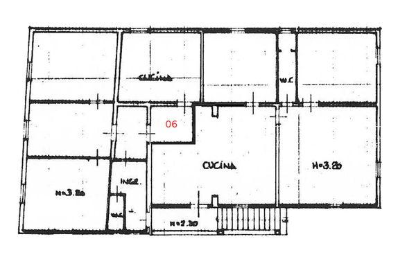 Immagine n1 - Planimetria - Piano primo - Asta 1352