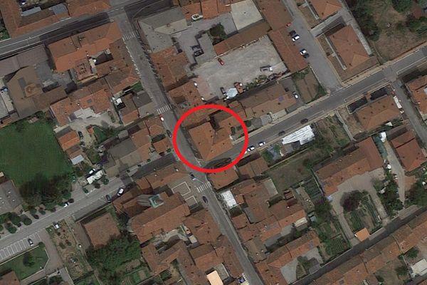 Immagine n0 - Planimetria - Vista aerea - Asta 13537