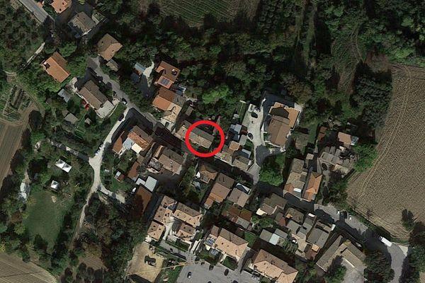 Immagine n0 - Planimetria - Vista aerea - Asta 13538
