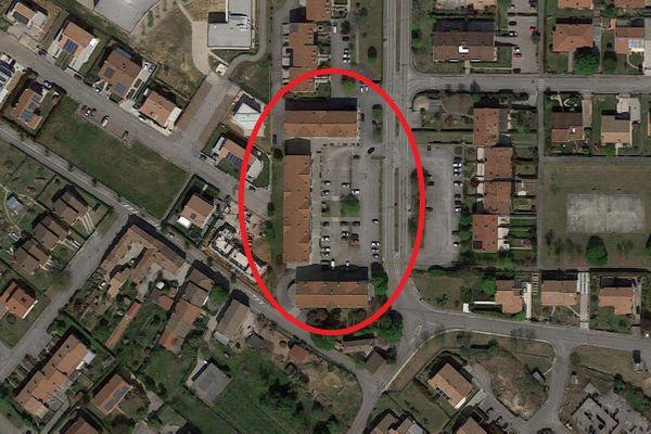 Immagine n0 - Planimetria - Vista aerea - Asta 13541