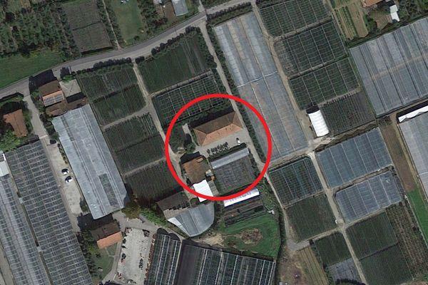 Immagine n0 - Planimetria - Vista aerea - Asta 13546
