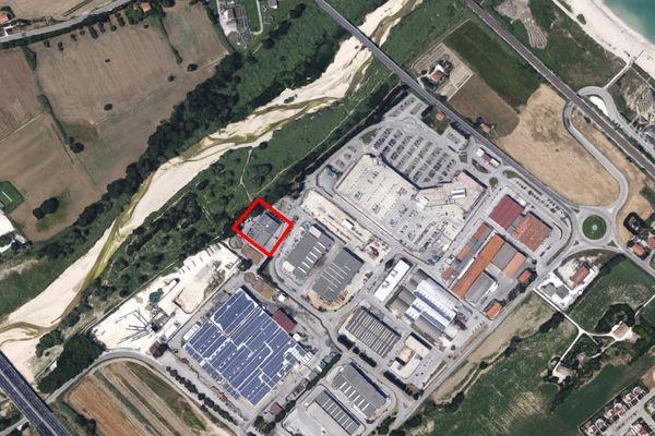 Immagine n0 - Planimetria - Vista aerea - Asta 1355