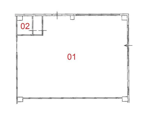 Immagine n1 - Planimetria - Piano terra - Asta 1355