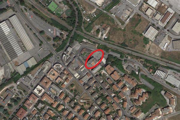 Immagine n1 - Planimetria - Vista aerea - Asta 13633