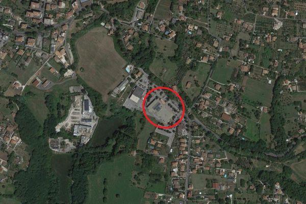 Immagine n0 - Planimetria - Vista aerea - Asta 13746