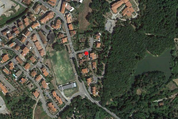 Immagine n0 - Planimetria - Vista aerea - Asta 1398