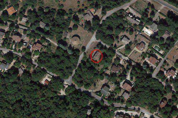 Immagine n0 - Planimetria - Vista aerea - Asta 14044