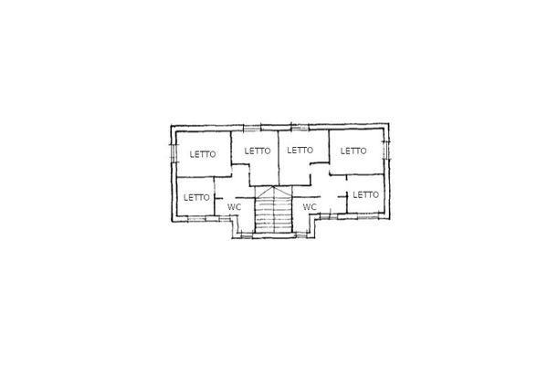 Immagine n3 - Planimetria - Piano Primo - Asta 14044