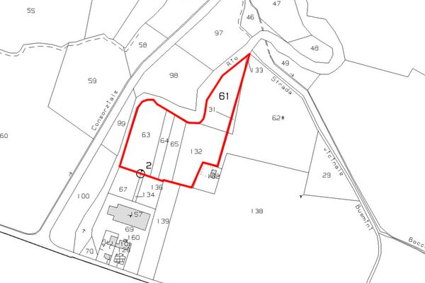 Immagine n1 - Planimetria - Estratto di mappa - Asta 1435