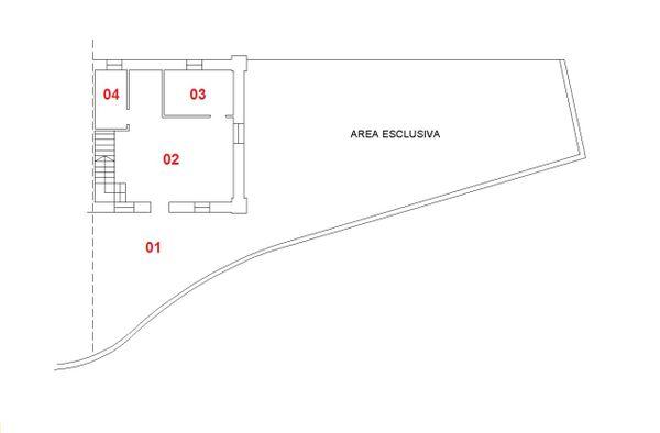 Immagine n3 - Planimetria - Piano terra - Asta 1437