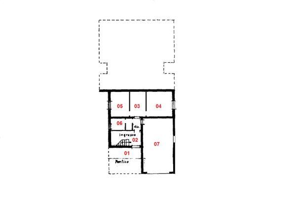 Immagine n6 - Planimetria - Piano terra - Asta 1457