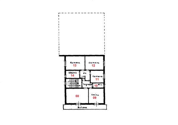 Immagine n6 - Planimetria - Piano primo - Asta 1457