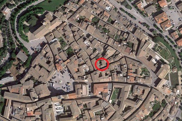 Immagine n0 - Planimetria - Vista aerea - Asta 1480