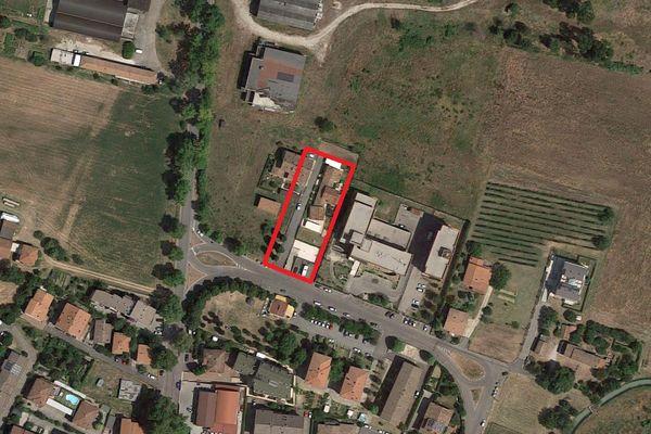Immagine n0 - Planimetria - Vista aerea - Asta 1492