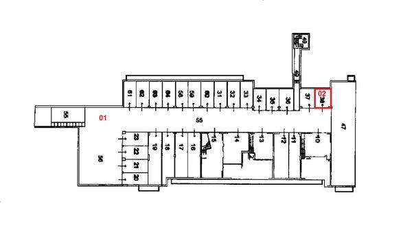 Immagine n1 - Planimetria - Piano interrato - Asta 1492