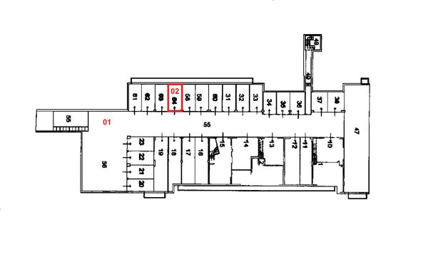 Immagine n1 - Planimetria - Piano interrato - Asta 1496
