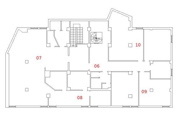 Immagine n4 - Planimetria - Piano primo - Asta 1499