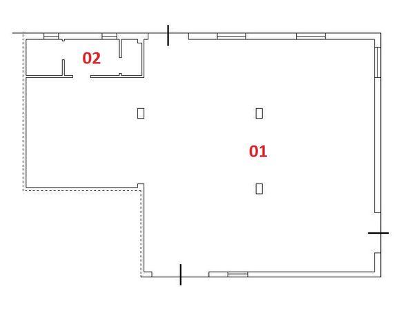 Immagine n1 - Planimetria - Piano terra - Asta 1500