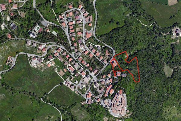 Immagine n0 - Planimetria - Vista aerea - Asta 1511