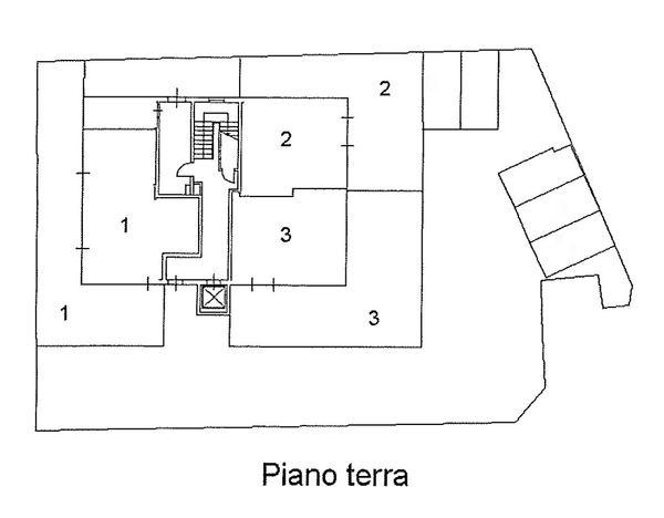 Immagine n2 - Planimetria - Piano terra - Asta 1511