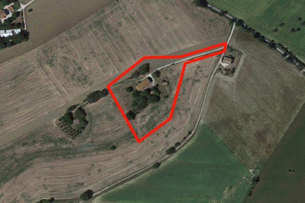 Immagine n1 - Planimetria - Vista aerea - Asta 1522