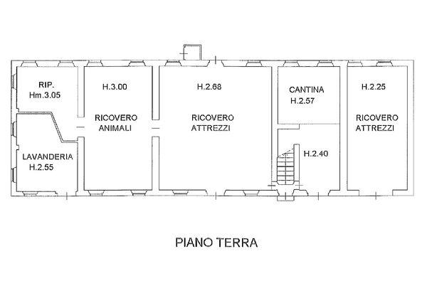 Immagine n1 - Planimetria - Piano terra - Asta 1522