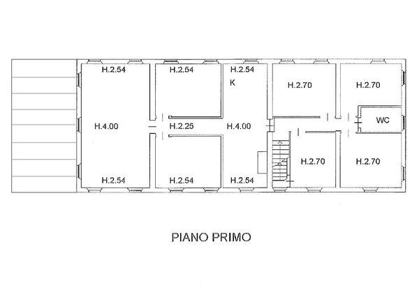 Immagine n2 - Planimetria - Piano primo - Asta 1522