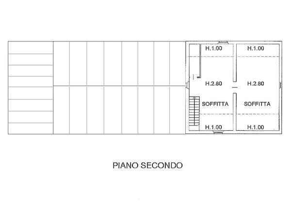 Immagine n3 - Planimetria - Piano secondo - Asta 1522