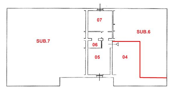 Immagine n3 - Planimetry - Sub. 5 P.1. - Asta 1531