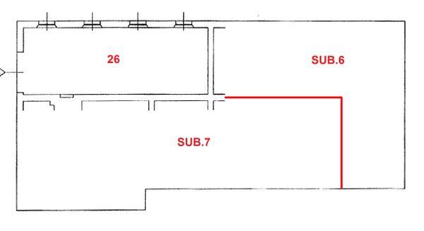 Immagine n0 - Planimetry - Sub. 8 P.T. - Asta 1531
