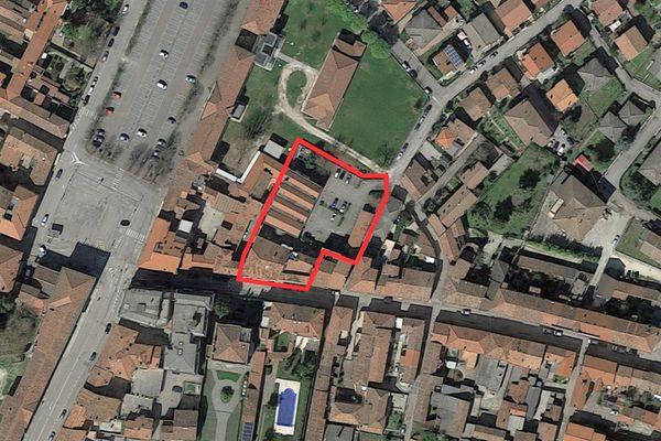 Immagine n0 - Planimetria - Vista aerea - Asta 1542