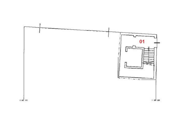 Immagine n2 - Planimetria - Piano terra - Asta 1542