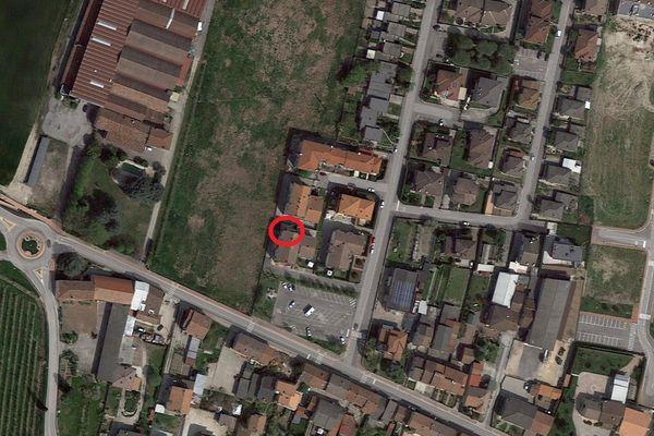 Immagine n0 - Planimetria - Vista aerea - Asta 1544