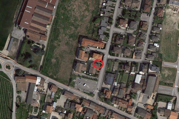 Immagine n0 - Planimetria - Vista aerea - Asta 1545