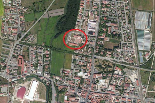 Immagine n1 - Planimetria - Vista aerea - Asta 1549