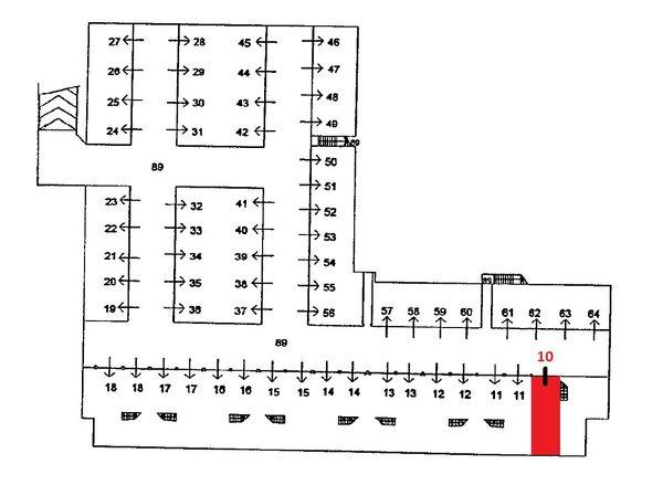 Immagine n0 - Planimetria - Piano interrato - Asta 1553