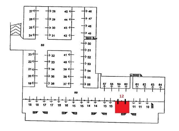 Immagine n0 - Planimetria - Piano interrato - Asta 1554