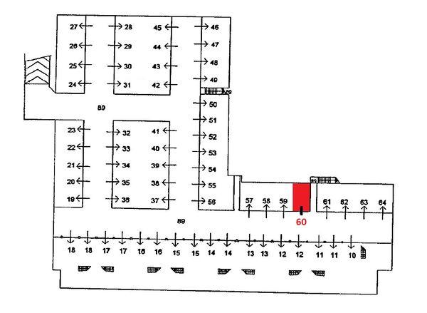 Immagine n0 - Planimetria - Piano interrato - Asta 1593