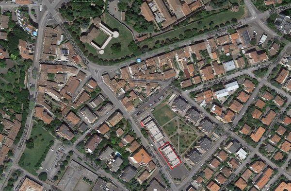 Immagine n0 - Planimetria - Vista aerea - Asta 163