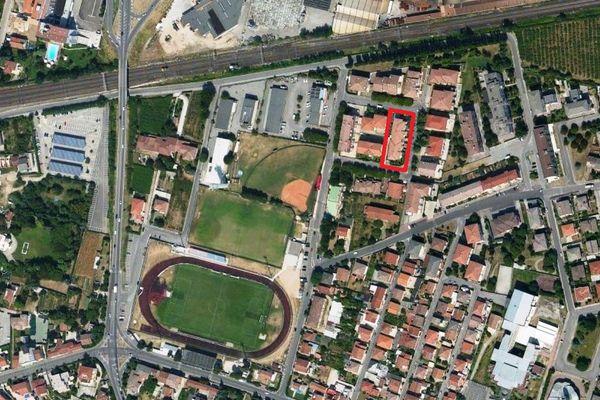 Immagine n0 - Planimetria - Vista aerea - Asta 1632