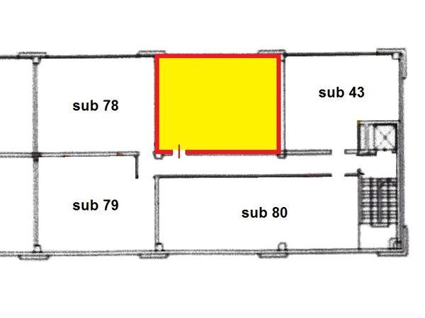 Immagine n1 - Planimetria - Piano primo - Asta 1645