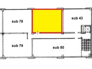 Immagine n2 - Ufficio (sub 44) al piano primo di centro commerciale - Asta 1645