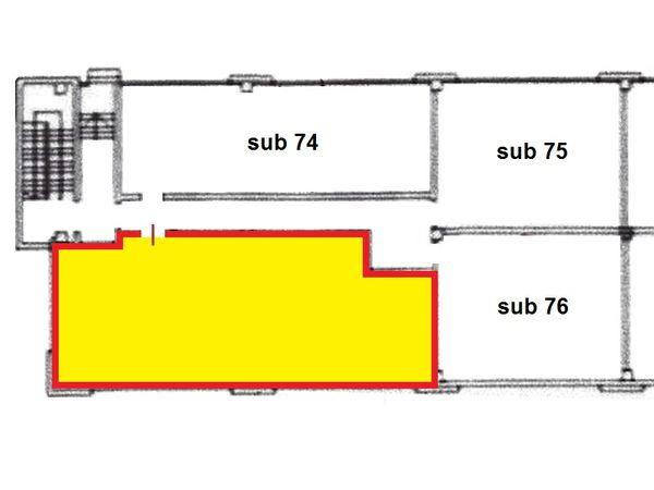 Immagine n1 - Planimetria - Piano primo - Asta 1651