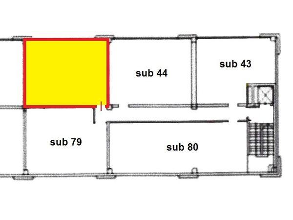 Immagine n1 - Planimetria - Piano primo - Asta 1652