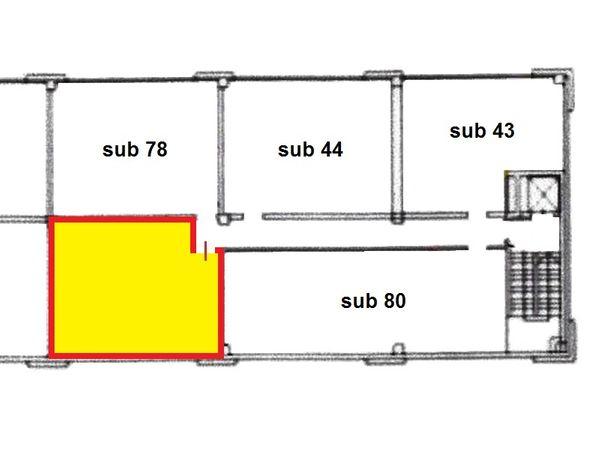 Immagine n1 - Planimetria - Piano primo - Asta 1653